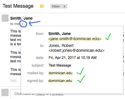 A Dominican email that is more likely to be legitimate