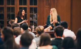 leslie blodgett interviewed at Dominican University of California