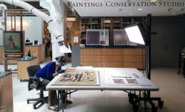 Keara Teeter art conservation