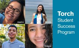 Students Enrolled in Dominican's Torch Student Success Program