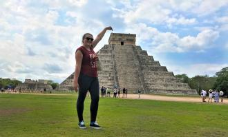 public health major maria alvarez pineda on service trip to mexico