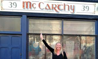 photo-of-karen-mccarthy-in-ireland-for-ot-study-abroad-story